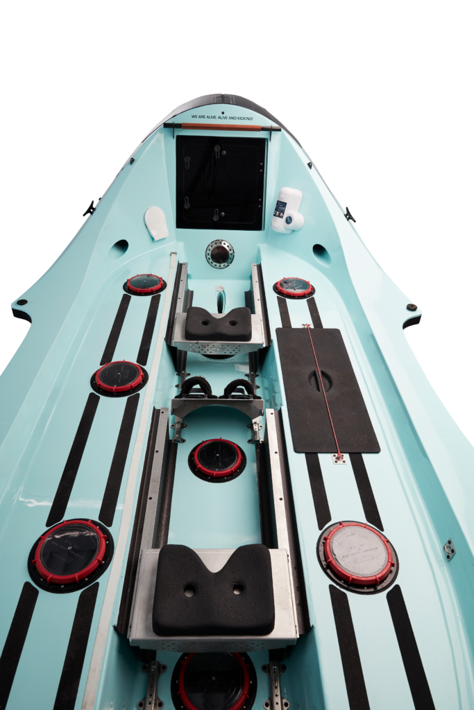 O28 ocean rowboat general layout